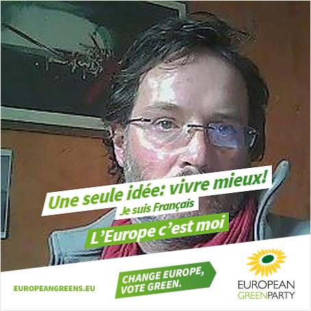 ER European Greens poster 2014 Vivre mieux fr